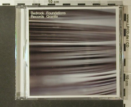 V.A.Bedrock: Foundations Granite, Bedrock Music/Orbital(Found2), UK, 2001 - CD - 96204 - 10,00 Euro