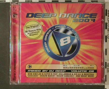 V.A.Deep Dance 2007 Volume 08: 80 Tr., FS-New, Klubbstyle(535.4008.2), EU, 2007 - 2CD - 96233 - 10,00 Euro