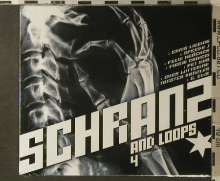 V.A.Schranz and Loops 4: Chris Liebling..Dennis Kae, FS-New, Alphabet City(500.1108.2), D, 2006 - 2CD - 96237 - 11,50 Euro