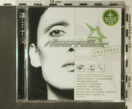 V.A.Floorfiller: Restless, FS-New, Alienews(HADSHcd33), D, 2005 - 2CD - 96260 - 10,00 Euro
