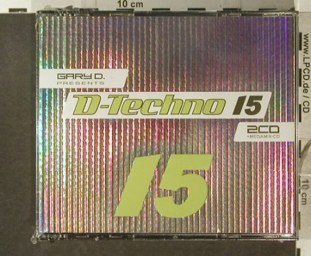 V.A.Gary D.: pres.D.Techno 15, FS-New, EDM(), , 2007 - 3CD - 96292 - 12,50 Euro