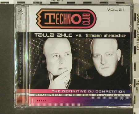 V.A.Techno Club Vol.22: Talla 2XLC vs.T.Uhrmacher, Klubbstyle(), A FS-New, 2006 - 2CD - 96320 - 15,00 Euro