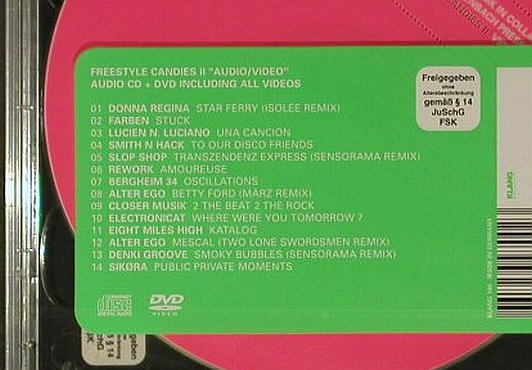 V.A.Freestyle Candies Vol.2: 14 Tr., FS-New, Lim.Ed., Klang Electronic(), EU, 2006 - CD/DVD - 96730 - 12,50 Euro