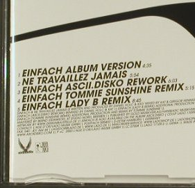Ascii.Disco: Einfach Remixed*4+1, L'Age D'Or(LADO 17109-3), D, 2003 - CD5inch - 96739 - 4,00 Euro