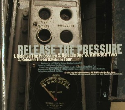 Leftfield: Release The Pressure*5, Columbia(), EC, 1995 - CD5inch - 96740 - 3,00 Euro