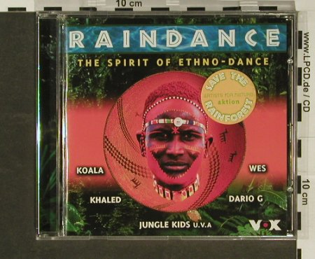 V.A.Raindance: The Spirit of Ethno-Dance, 19 Tr., Warner(), D, 1998 - CD - 96876 - 5,00 Euro