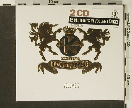 V.A.House Of House: 22 Tr., Digi, FS-New, Kontor(), D, 2007 - 2CD - 97160 - 10,00 Euro