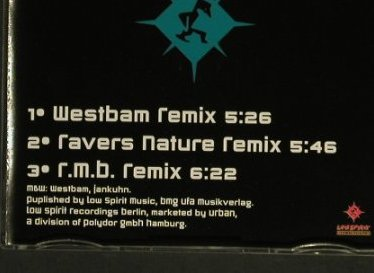 Westbam - Chapter 2: Celebration Generation/Remixes, Low Spirit(), D, 94 - CD5inch - 97534 - 3,00 Euro