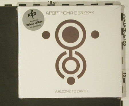 Apoptygma Berzerk: Welcome to Earth,deluxe,Digi,FS-New, Hard Drive(), , 2007 - CD - 97626 - 11,50 Euro