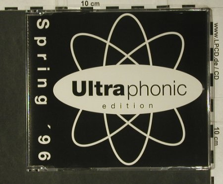 V.A.Ultraphonic Spring'96: Afrika Islam...Errol Brown,12 Tr., Ultraphonic(PM 1513), D, 1996 - CD - 98785 - 5,00 Euro