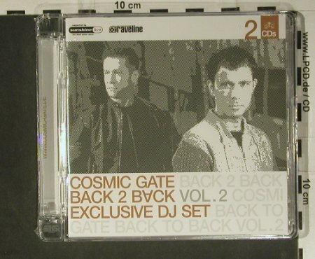 V.A.Cosmic Gate: Back To Back Vol. 2,  FS-New, E-Cutz(565.0001.2), D, 2005 - 2CD - 98828 - 12,50 Euro