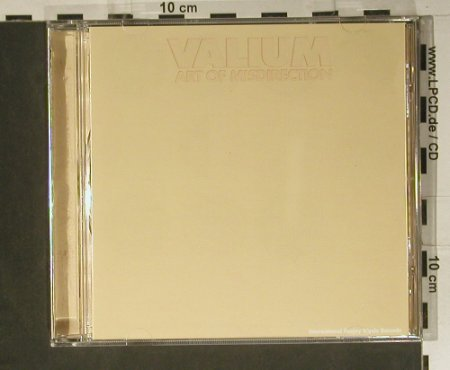 Valium: Art Of Misdirection, Gigolo(Gigolo 42), D, 2000 - CD - 98867 - 7,50 Euro