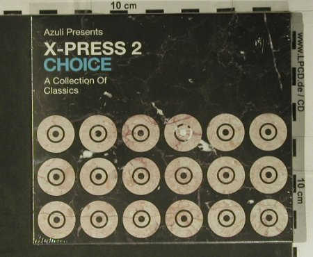 V.A.X-Press 2: Choice, FS-New, Azuli(AZCD34), , 2004 - 2CD - 98916 - 15,00 Euro