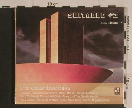 V.A.Suitable # 3: The Downbeatniks,by Minox, Digi, Suiteque(STQ 06), , 2004 - CD - 99584 - 7,50 Euro