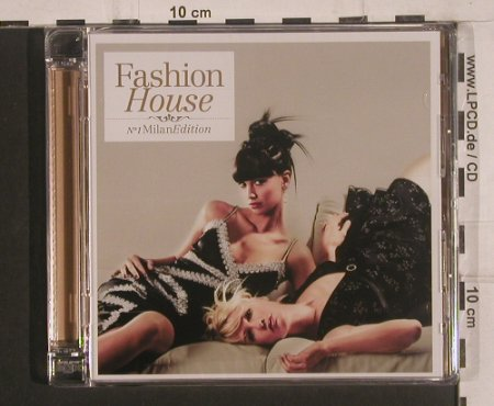 V.A.Fashion House: No.1 Milan Edition,FS-New, Clubstar(), , 2008 - 2CD - 99631 - 10,00 Euro