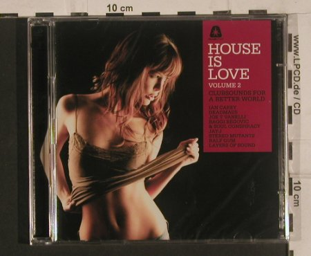 V.A.House Is Love: Volume 2, FS-New, Clubstar(), , 2008 - 2CD - 99656 - 10,00 Euro