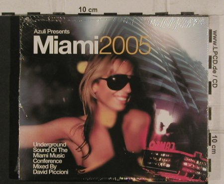 V.A.Miami 2005: Underground Sound of..., FS-New, Azuli Rec.(AZcd36), EU, 2005 - 2CD - 99800 - 10,00 Euro