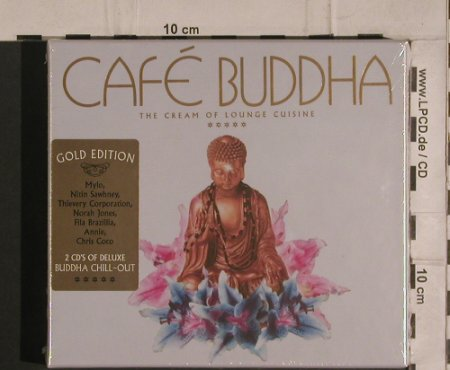 V.A.Cafe Buddha: The Cream of Lounge Cuisine, FS-New, Parklane(PARKLcd07), EU, 2005 - 2CD - 99915 - 12,50 Euro