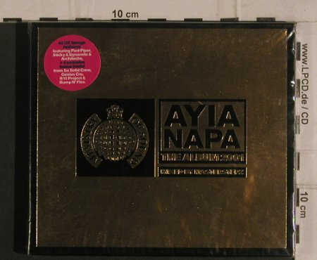 V.A.Ayia Napa The Album 2001: Mixed by Masterstepz, FS-New, MinistryOS(mos cd 19), UK, 2001 - 2CD - 99923 - 12,50 Euro