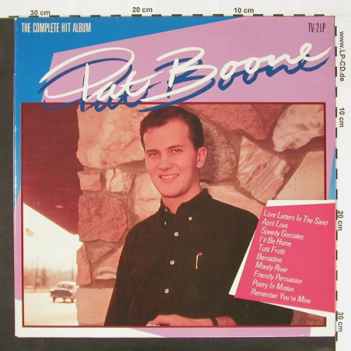 Boone,Pat: The Complete Hit Album, Arcade(ADEH 212), NL, 1986 - 2LP - A6276 - 6,00 Euro