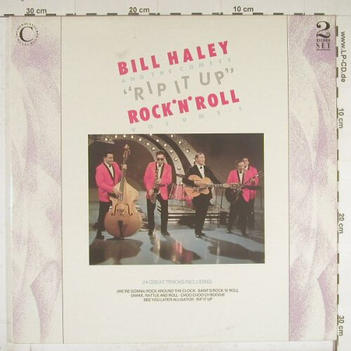 Haley,Bill & Comets: Rip It Up,Foc, Connoiss.(VSOPLP116), UK, 88 - 2LP - B209 - 5,50 Euro