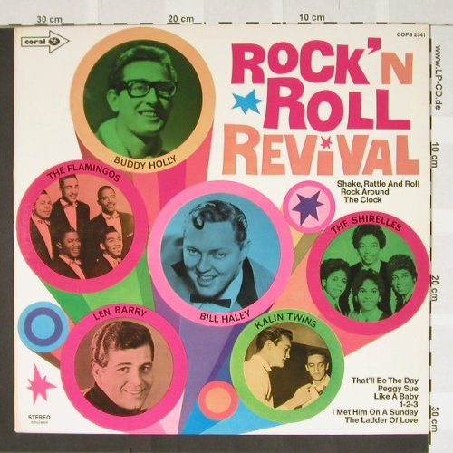 V.A.Rock'n'Roll Revival: Bill Haley ...Shirelles, Coral(COPS 2341), D,  - LP - B3159 - 5,50 Euro