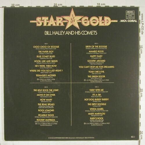 Haley,Bill & Comets: Star Gold,Foc, MCA(0082.049-2), D,  - 2LP - B397 - 5,00 Euro
