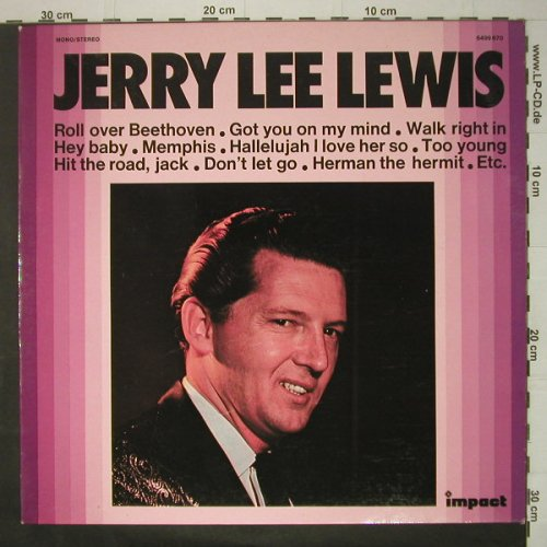 Lewis,Jerry Lee: Same, Ri, Impact(6499 670), F, 1973 - LP - C6403 - 5,00 Euro
