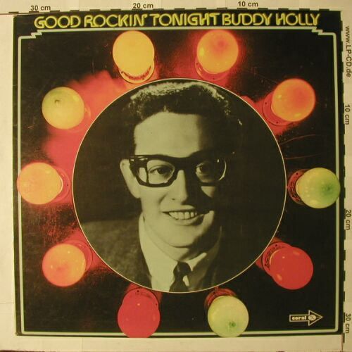 Holly,Buddy: Good Rockin Tonight, Coral(COPS 1034), D, 73 - LP - C6991 - 5,00 Euro