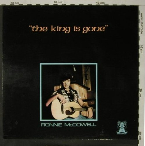 McDowell,Ronnie: The King Is Gone, Janus(6.23389 AO), D, 1977 - LP - C8744 - 6,00 Euro