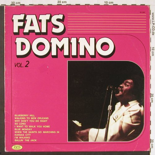Domino,Fats: Vol.2, m-/vg+, Joker(SM 3896), I, 1981 - LP - C9626 - 3,00 Euro