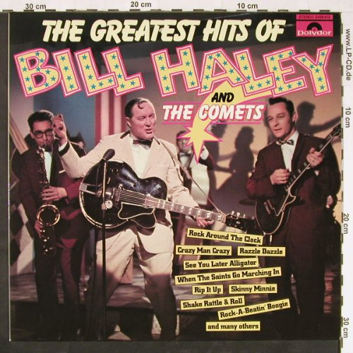 Haley,Bill & Comets: The Greatest Hits of - Live, Polydor(2459 413), D, 1970 - LP - E1110 - 6,00 Euro