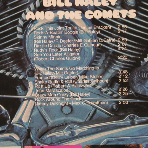Haley,Bill & Comets: Live at the Bitter End, Karussell(2345 014), D, 1970 - LP - E1566 - 5,00 Euro