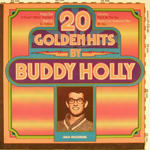 Holly,Buddy: 20 Golden Hits, MCA(6.22262 AP), D, 1975 - LP - E2730 - 5,00 Euro