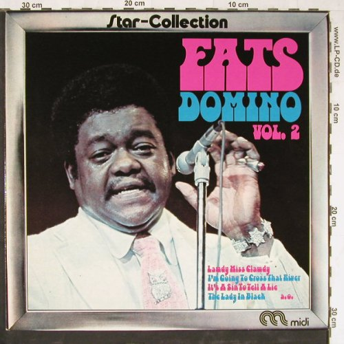 Domino,Fats: Star Collection Vol.2, Warenprobe, Midi(MID 24 019), D,Promo, 1974 - LP - E3770 - 7,50 Euro