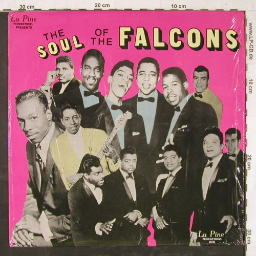 Falcons: The Soul Of, Lu Pine Production(RELIC 8010), US,  - LP - E5941 - 7,50 Euro