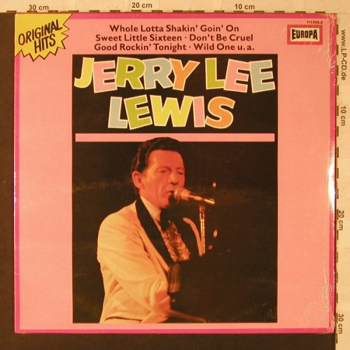 Lewis,Jerry Lee: Same, FS-New, Europa(111 306.2), D,  - LP - F1844 - 6,50 Euro