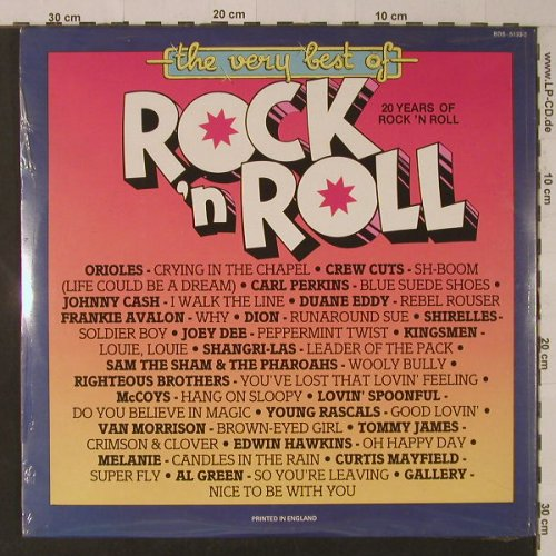 V.A.The Very Best Of Rock'n'Roll: 30 Tr., Foc, FS-New, BDS(5133-2), UK,  - 2LP - F5389 - 7,50 Euro