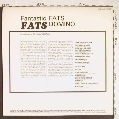 Domino,Fats: Fantastic Fats, EMI Columbia(C 048-90 934), D,  - LP - F9645 - 9,00 Euro