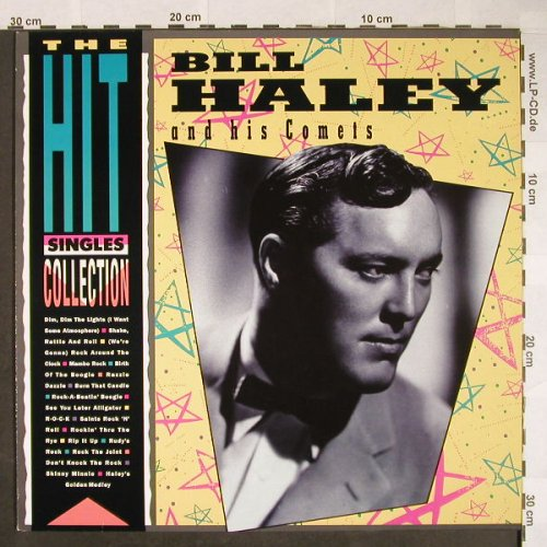 Haley,Bill & Comets: Hit Singles Collection, MCA(252 458-1), D, 1985 - LP - F9947 - 5,50 Euro
