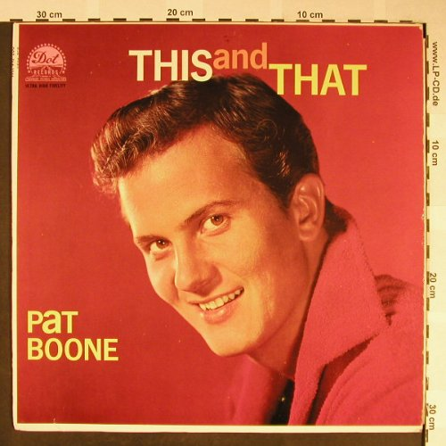 Boone,Pat: This and That, vg+/m-,<10bubbles, Dot Record(DLP 3285), US,  - LP - H2041 - 15,00 Euro
