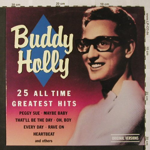Holly,Buddy: 25 All Time Geatest Hits, Companion(6187261), DK, Ri,  - LP - H2550 - 5,00 Euro