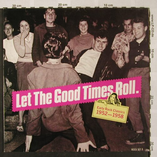 V.A.Let The Good Times Roll: Early Rock Classics,1952-58,Foc, Capitol,Kess funnyFrisch(F 669.084), D,  - LP - H2572 - 6,50 Euro
