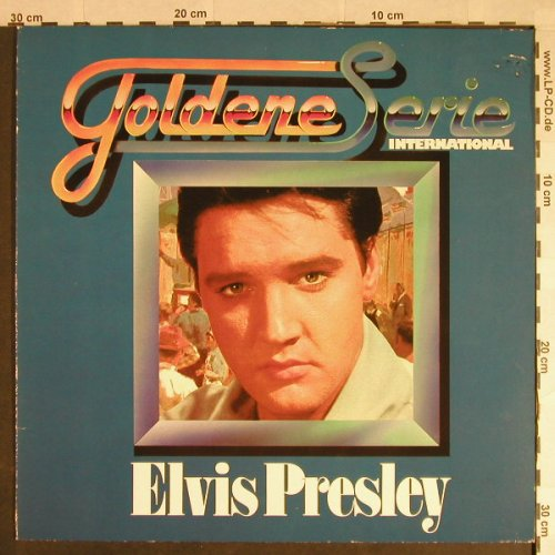 Presley,Elvis: Goldene Serie-international,Club Ed, RCA, Ri, stol(32 323 8), D, vg+/vg+, 1956 - LP - H267 - 3,00 Euro