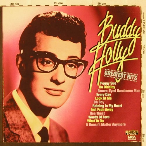 Holly,Buddy: Greatest Hits, Marifon Sp./MCA(296 076-245), D, Ri, 1982 - LP - H3148 - 5,00 Euro