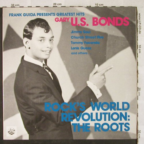 V.A.Rock's World Revolution: US.Bonds,Jimmy Soul, Lenis Gues,Foc, Lollipop(6.24730 AP), D, 1979 - LP - H3347 - 7,50 Euro