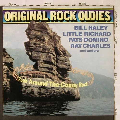 V.A.Original Rock Oldies: Rock Around The Conny Rock, Midi(MID 28 114), D, Ri, 1980 - LP - H3646 - 4,00 Euro