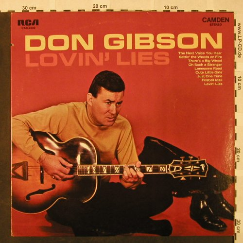 Gibson,Don: Lovin' Lies, RCA Camden(CAS-2392), US,co,Ri,  - LP - H4836 - 7,50 Euro