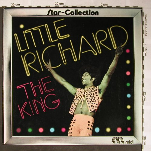 Little Richard: Star-Collection-The King, Midi(MID 24 009), D, Ri, 1973 - LP - H5567 - 6,00 Euro