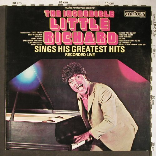 Little Richard: The Incredible..Rec.Live, Stol, Contour(2870 150), I,  - LP - H5853 - 5,00 Euro